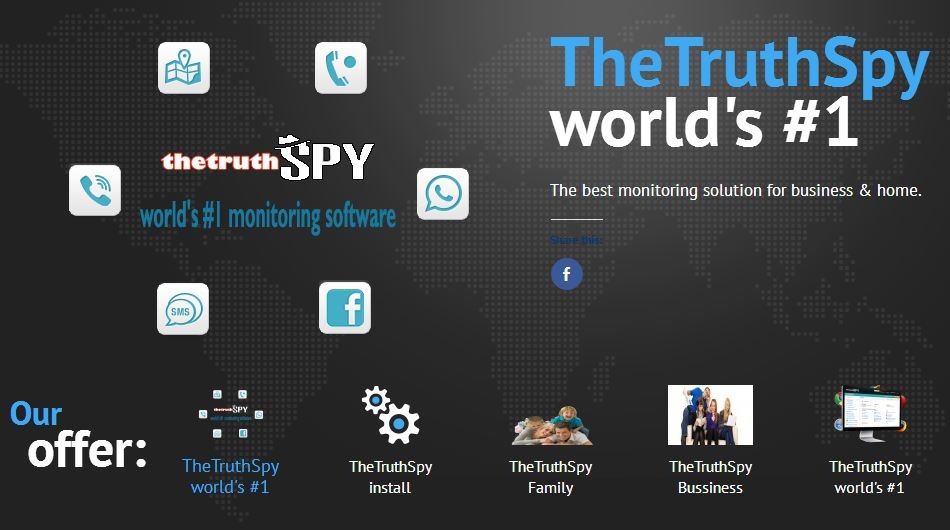 Way 2: Spy on Someone's Facebook Online using TheTruthSpy tool
