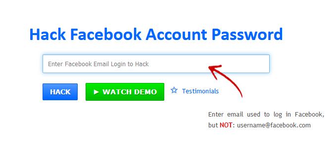 #3 Hack Facebook Using Online Websites