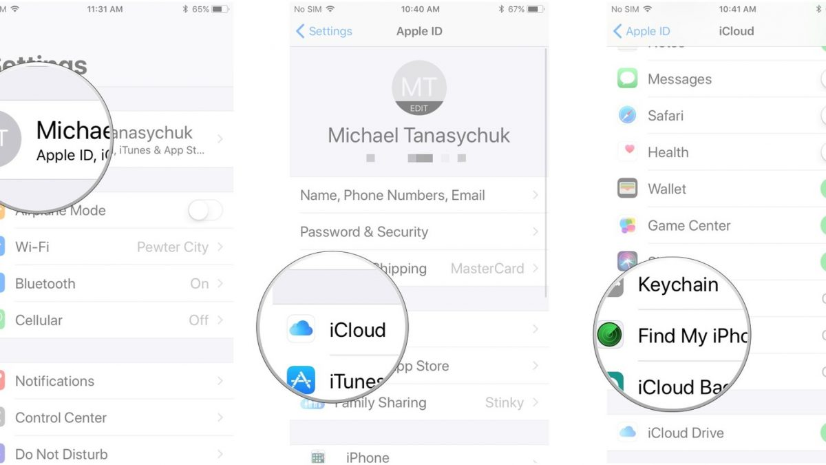 How to Use iCloud to Find My iPhone